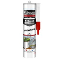 Mastic spécial materials rubson aquarium transparent 280ml