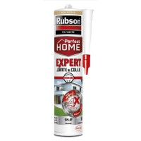 Mastic perfect home rubson expert jointe & colle ton pierre 280ml