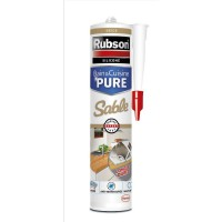 Mastic bain&cuisine pure rubson sable 280ml