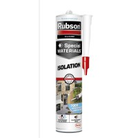 Mastic spécial materials rubson isolation transparent 280ml