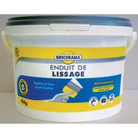 Enduit de lissage en pate bricorama 4 kg