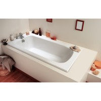 Baignoire flavis gain de place allibert 150x70