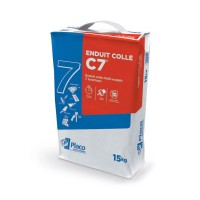 Enduit colle multiusage placoplatre® c7® 15kg