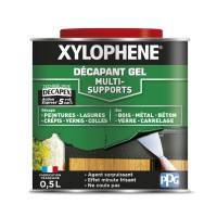 Décapant multisupport xylophene gel bois 0,5l