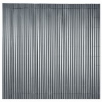 Canisse simple face anthracite 1 x 3 m