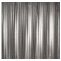 Canisse simple face anthracite 1,5 x 5 m