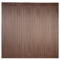 Canisse simple face chocolat 1,5 x 5 m