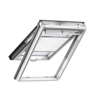 Fenêtre de toit à projection velux mk04 gpl confort white finish