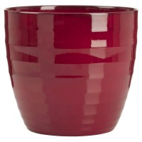 Cache-pot deroma 923 dark red 16xh.14cm