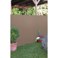 Canisse pvc simple face l.3x1m taupe