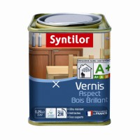 Vernis aspect bois brillant syntilor brillant chêne moyen 0,25l