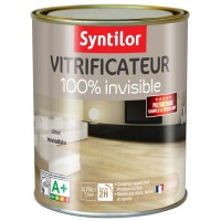 Vitrificateur parquet 100% invisible syntilor 0,75l