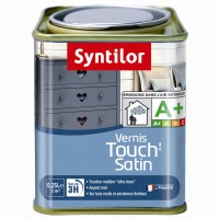 Vernis syntilor touch satiné noir 0,25l