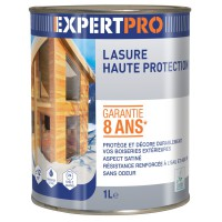 Lasure expert pro haute protection incolore 1l