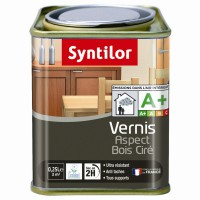 Vernis aspect bois ciré syntilor aqua wengé 250ml
