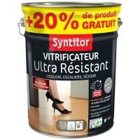 Vitrificateur ultra résistant syntilor cire naturel satiné 5l+20%