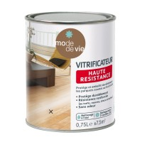 Vitrificateur parquet mode de vie brillant incolore 0,75l