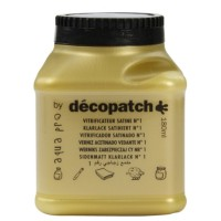 Vernis vitrificateur satiné décopatch 180ml