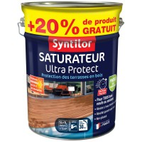 Saturateur ultra protect syntilor teck 5l + 20% gratuit