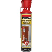 Mousse expansive genus soudal isoler et reboucher 500ml