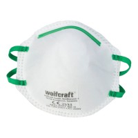 Masques antipoussières wolfcraft ffp1 lot de 3