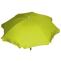 Parasol anjosa rond 2m inclinable vert anis
