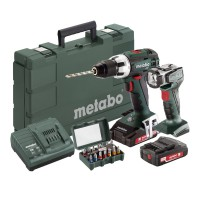 Perceuse visseuse sans fil metabo bs 18 lt pac