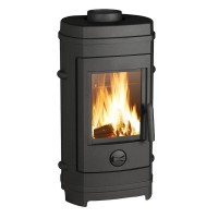 Poêle à bois invicta remilly p601384 7kw anthracite