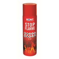 Aérosol stop flamme ront production mousse aqueuse
