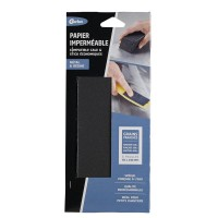 Papiers abrasifs gerlon imperméable grains 120/180/400 lot de 6