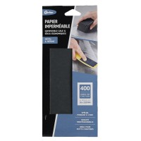Papiers abrasifs gerlon imperméable grain 400 lot de 6