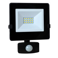 Projecteur led tibelec 10w infrarouge noir
