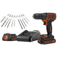 Perceuse sans fil black et decker 2 batteries lithium