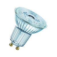 Ampoule led osram spot par16 led 36° verre variable 8w=80 gu10 chaud
