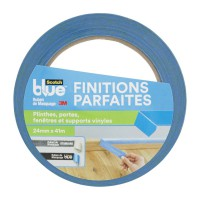 Ruban de masquage scotchblue™ finitions parfaites bleu 41mx24mm