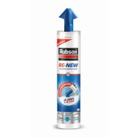 Mastic joint silicone rubson re new blanc 280ml