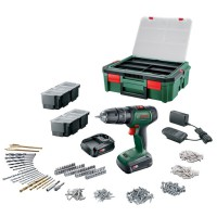 Perceuse à percussion universal impact 18 systembox 2 batteries 18v bosch