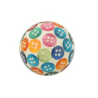 Bouton boule mode de vie d.35mm nacre multicolore