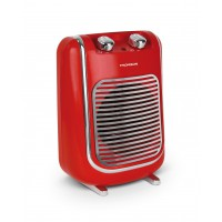 Radiateur soufflant thomson 2000w mobile fifty rouge