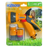 Kit pistolet multi spray hozelock raccords
