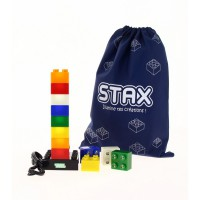 Pack 12 briques lumineuses led xanlite stax