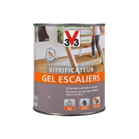 Vitrificateur gel escalier v33 incolore cire 750ml