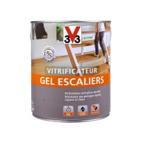 Vitrificateur gel escalier v33 incolore brillant 2,5l