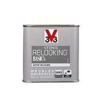 Vernis relooking meubles boiseries v33 taupe satin 0,5l