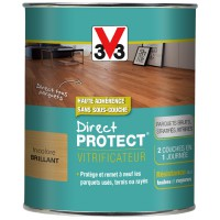 Vitrificateur bois v33 direct protect incolore brillant 750ml