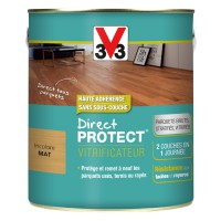 Vitrificateur bois v33 direct protect incolore mat 2,5l