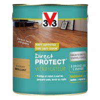 Vitrificateur bois v33 direct protect incolore brillant 2,5l