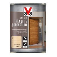 Vernis haute protection v33 satin incolore 1l