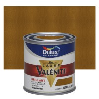 Laque valénite dulux valentine or riche brillant 0,100l