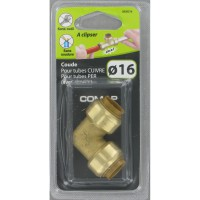Raccord tectite comap coude egal d16